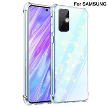For Samsung Galaxy S20 S10 Plus silicone Case Ultra-Thin For S20 Ultre S10 Lite 5G Clear Soft Case Note 10 Plus 8 9 Back Cover(China)