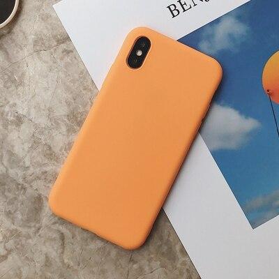 Силиконовый чехол для iPhone 11 Pro Max, чехол из мягкого ТПУ, матовый цветной чехол для телефона s, чехол для iPhone 6 7 8 Plus 6S XS Max XR X Etui - Цвет: SD-10