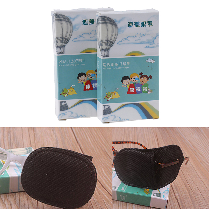 6Pcs Child Occlusion Medical Lazy Eye Patch Eyeshade For Kids Children Boy Girl 2 Size Health And Beauty