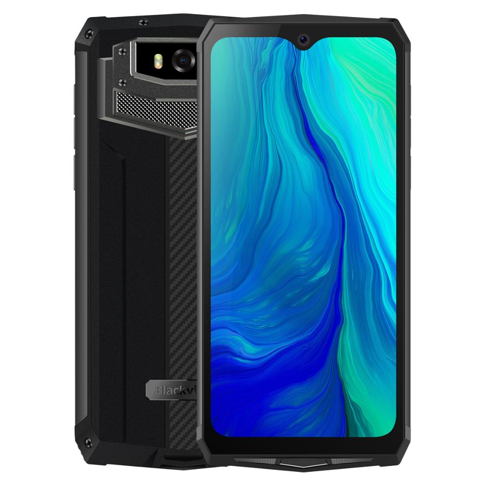 Blackview BV9100 6.3 ''FHD + 13000mAh IP68 Smartphone robuste 4GB 64GB Helio P35 Octa Core Android9.0 téléphone portable 30W Charge rapide - 6