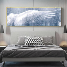 Крылья Ангела винтажные настенные плакаты и принты черно белые