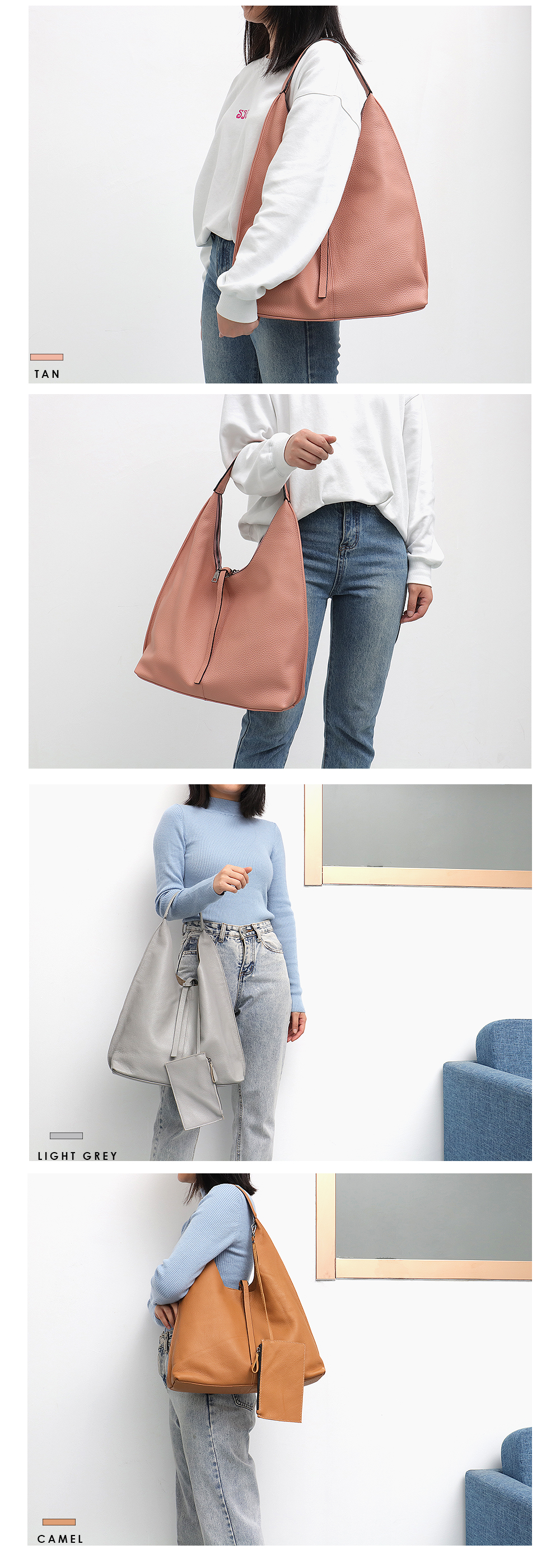 China leather hobo bag Suppliers