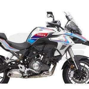 Image 3 - Yeni stil motosiklet tankı ped koruyucu Sticker çıkartma gaz diz kavrama Tank çekiş Benelli TRK502 TRK 502 502X