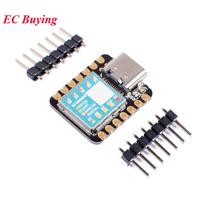 Seeeduino xiao samd21g18 placa de desenvolvimento microcontrolador para arduino uno nano cortex m0 + 3.3v iic i2c uart spi interface|Circuitos integrados|   -