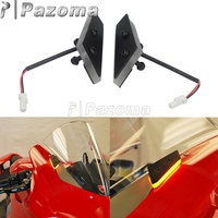 For Ducati Panigale V4 V4S V4 Speciale V4R Motorcycle Supersports Front LED Turn Signal Kit Mirror Block Off Pates PLUG & PLAY