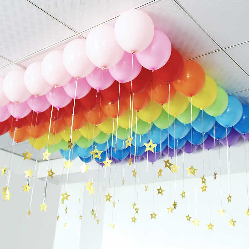 200 punkte Ballon Befestigung Kleber Dot Befestigen Ballons, Decke Oder Wand Aufkleber Geburtstag Party DIY Hochzeit Liefert