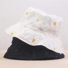 Дорожная шляпа с маргаритками для активного отдыха Солнцезащитная