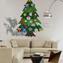 Практичная креативная войлочная Рождественская елка для детей 3,2фт Diy Рождественская елка с малышами 25 шт. украшения для детей рождественские подарки