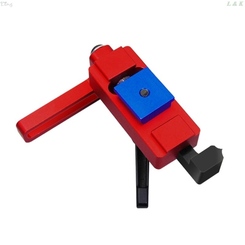 Special Stopper For Woodworking Chute Dedicated Limiter Standard Miter Track Stopper Woodworking Positioning Limiter Type 45