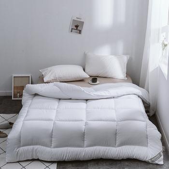 Zima kołdra kołdra rdzeń fajny pocieszyciel koc pocieszyciel zimowy ciepły kołdra okładka ciepłe i szlachetne nowe produkty tanie i dobre opinie Cotton satin Duvet