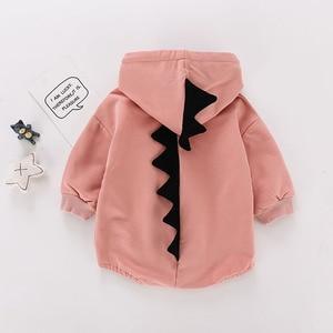 Image 3 - 2020 아기 Bodysuits 코 튼 까마귀 아래쪽 커버와 크롤링 양복 아기 어린이 핑크 Bodysuit 아기 소녀 옷
