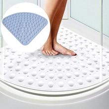 2019 Newest Corner Bath Quadrant Sector Rubber Antibacterial Mat Shower Mat Non Slip Pad For Home