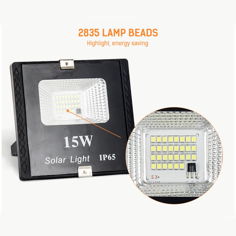 cheapest 15W Solar LED Flood Light Remote Control Spotlight IP65 Waterproof Street Light Dimmable Outdoor Garden Lamp Timer Function