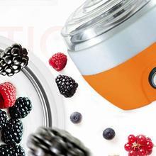 Portable Yogurt Machine Home Stainless Steel Yogurt Machine Liner Automatic Yogurt Machine Creative Gift