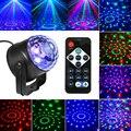 Dropship звуковая активация вращающийся шар лазерный светильник с лампой вечерние RGB светодиодный для ди-Джея свет для сцены парти светильник s ...