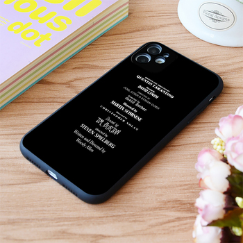 For iPhone Filmmakers Print Soft Matt Apple iPhone Case 6 7 8 11 12 Plus Pro X XR XS MAX SE image
