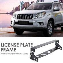 Enduring-Mount-Holder License-Number-Plate Universal Tilt Aluminum Adjustable Classic-Colors