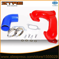 FOR 2002   2007 Sub@ru Imprez@ WRX Top Mount Intercooler Y pipe|Turbo Chargers & Parts|   -