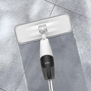 Image 3 - Deerma 워터 스프레이 청소 스위퍼 진공 청소기 먼지 헝겊 360 회전 청소 헝겊 무선 걸레 바닥 청소기
