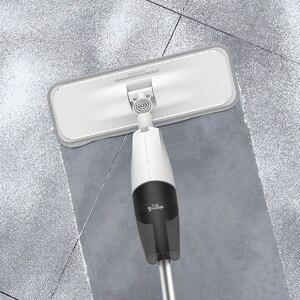 Image 3 - Deerma mopa pulverizadora de agua, aspiradora, paño de limpieza giratorio 360, mopa inalámbrica, limpiador de suelos