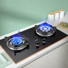 Fogão a gás duplo fogo incorporado fogão a gás casa fogão a gás embutido fogão de mesa fogão a gás liquefeito