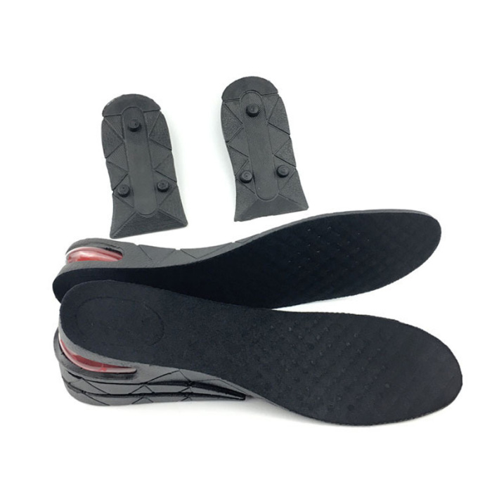 1 Pair Heightening Insole Lift Pads Heel Support Foam Breathable Height Cushion