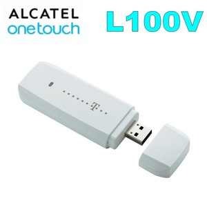 Lot of 10pcs Unlocked used Alcatel L100 100Mbps 4g modem industrial 4g dongle ethernet modem 4g sim card l100v fdd all band