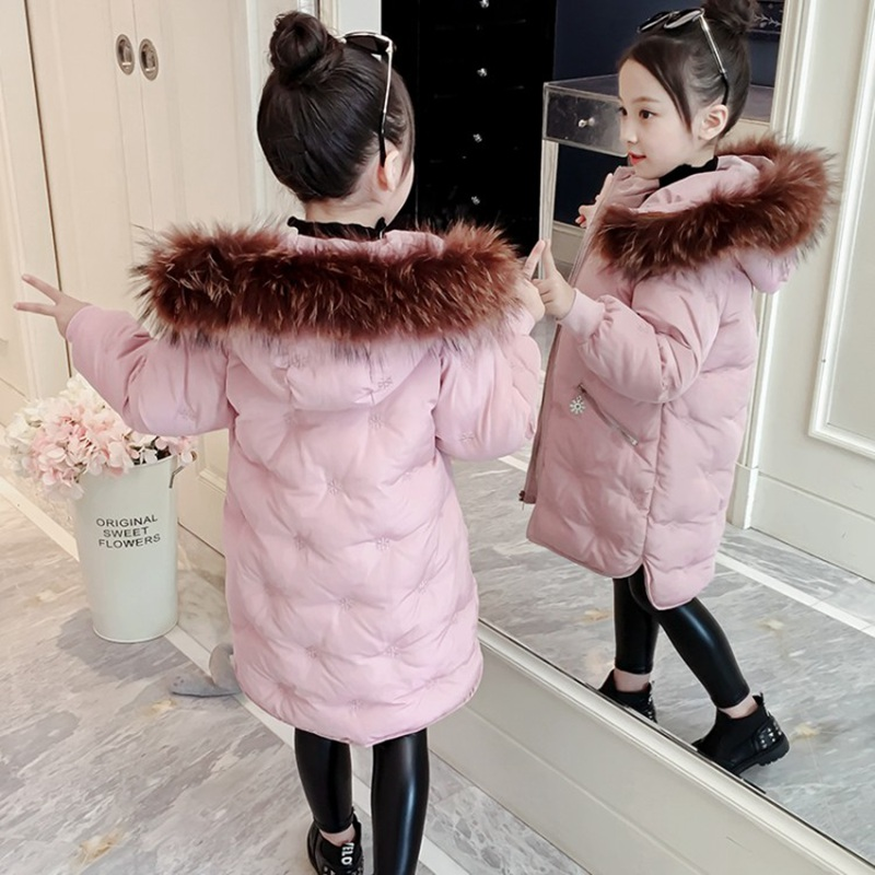 CROAL CHERIE Real Fur Outerwear & Coats Winter Jacket For Girls Children Winter Clothing Outerwear Coat Toddler Clothes (10)