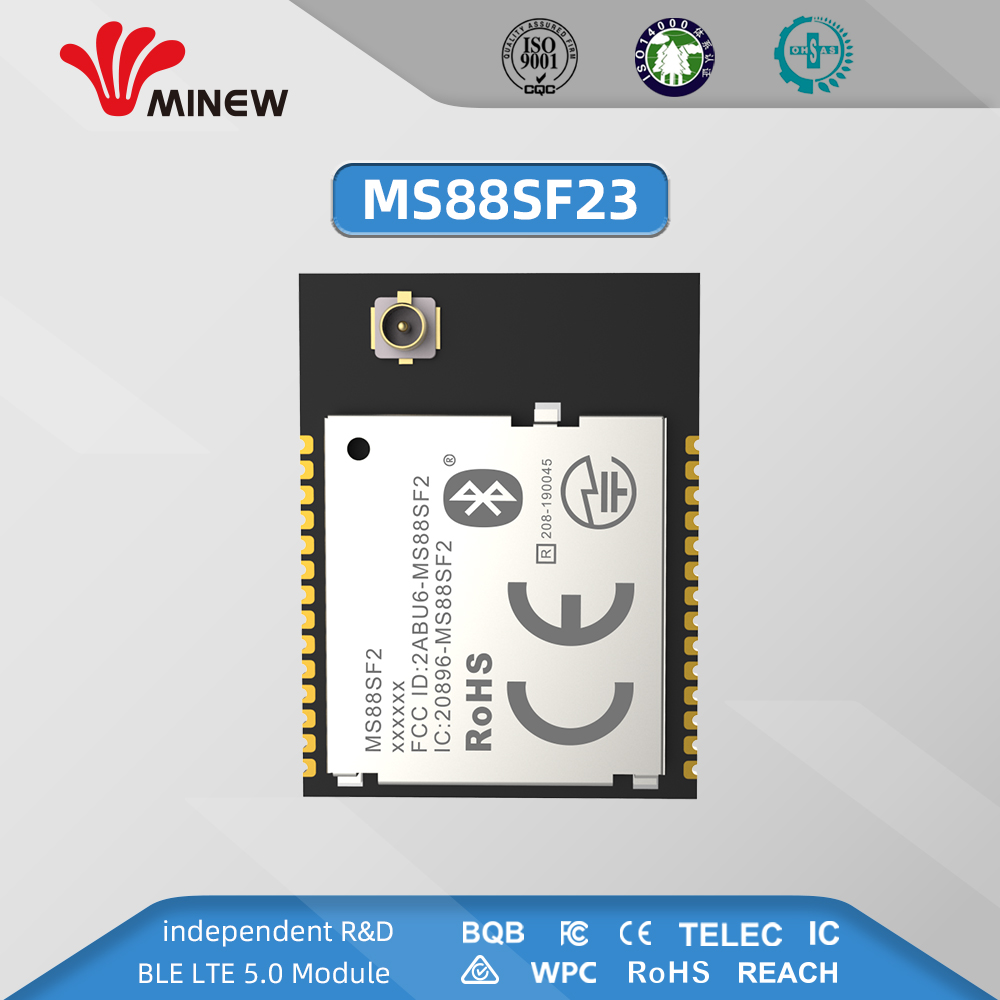 MS88SF2 Advanced NRF52840 RF Module 2.4GHz 8 DBm Long Range Bluetooth 5.0 Nrf52 Nrf52840 Transmitter And Recieever With USB NFC