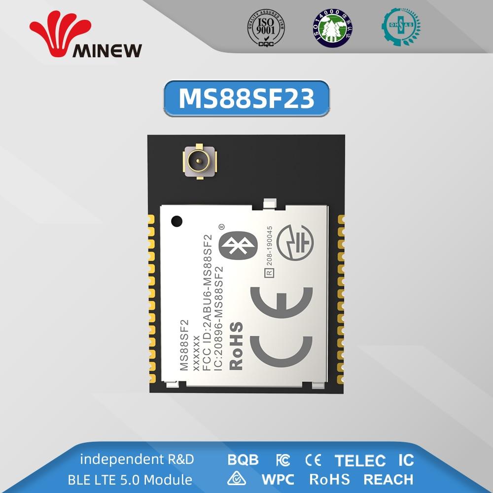 MS88SF2 Advanced NRF52840 RF Module 2.4GHz 8 DBm Long Range Bluetooth 5.0 Nrf52 Nrf52840 Transmitter And Recieever With USB NFC