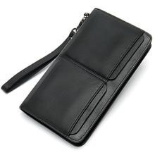Cartera Hombre Carteras Cartera Hombre Carteras Card Wallet Carteira Masculina Couro Leather Wallet Billeteras Monederos Purse
