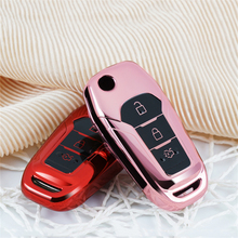 Key case for car For Ford Escort Mondeo Everest Ranger Fusion key cover keychain keyring new car accessorie car styling interior