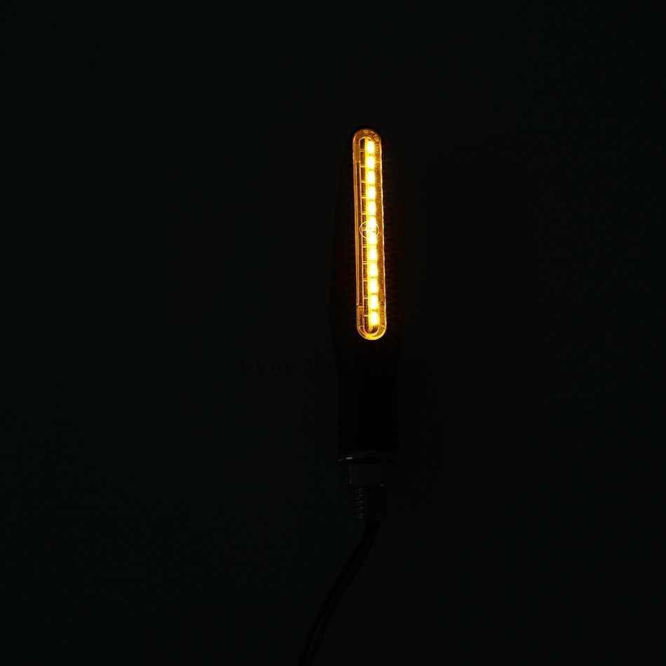 100% dekoder LED motocykl kierunkowskazy dla Grom Msx125 Bmw dziewięć T Bandit Er6F 400 Gsxs 750 rower sztalugi płynącej wody pokrywa