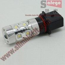 Safego 1 piece 60W High Quality P13 9006 HB4 LED Fog Light Auto LED Fog Lamp DC 12V 24V White Car Light Source Fog Lights sencart baz15d 7 5w 380lm 5 led white light car backup lamp dc 12 24v 2 pcs