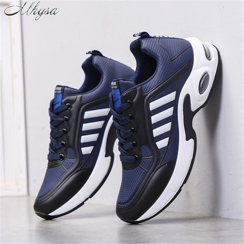 Mhysa 2020 Spring New Men's Sneakers Increase Shoes Breathable Comfortable Fashion Men's Tennis Casual Shoes Chaussure Homme