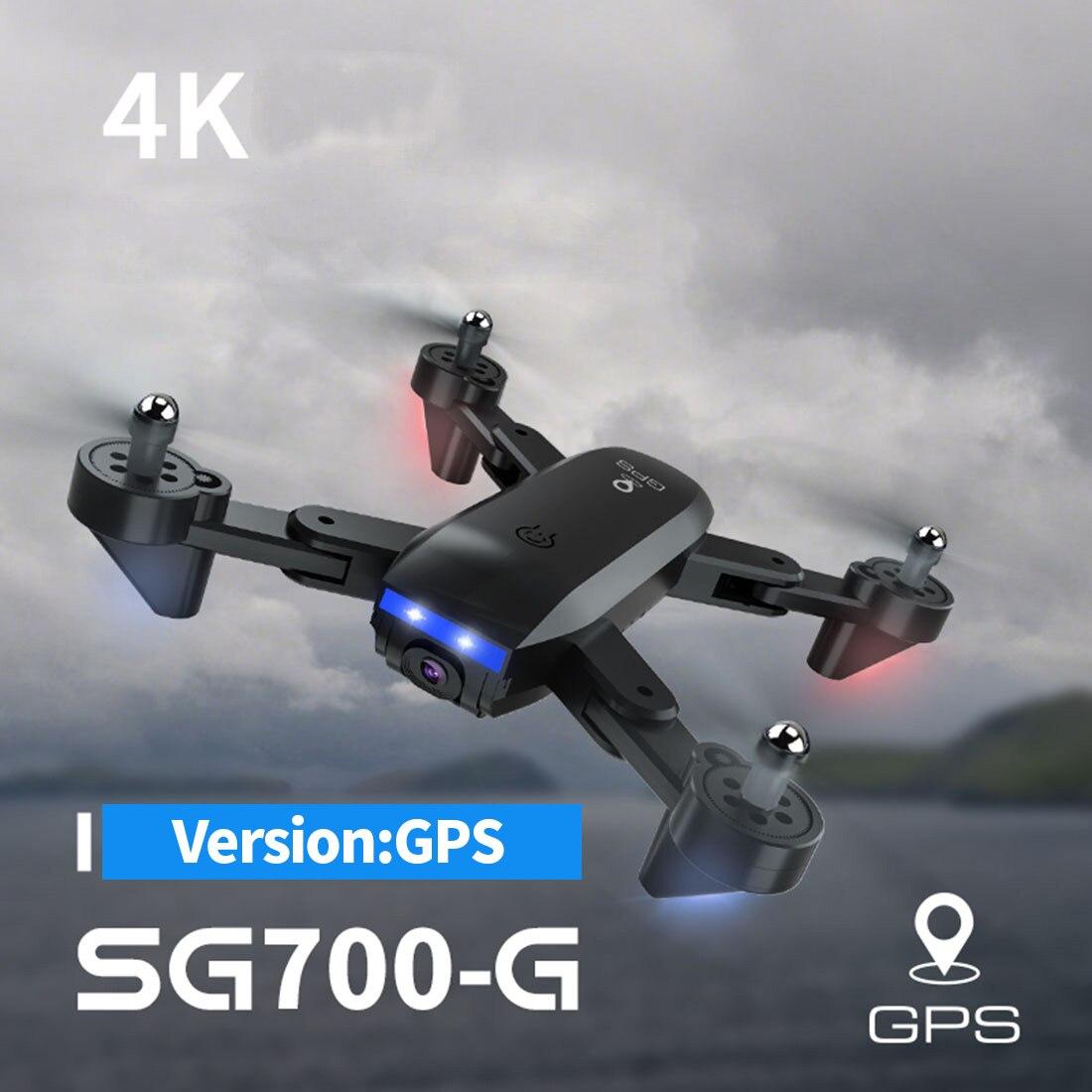 GPS Drone SG700G Wifi FPV 1080P 4K HD Dual Camera 50x Zoom Optical Flow Dual Position RC Quadcopter Follow Me Mini Dron VS E520S