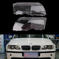 New 2 Pcs / Pair replacement headlight lenses for 99 03 BMW E46 2DR / 01 05 M3 replacement headlight lens left and right XX