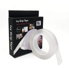 Transparent Thickened Nano Traceless Magic Tape Waterproof Adhesive Velcro Double-Sided