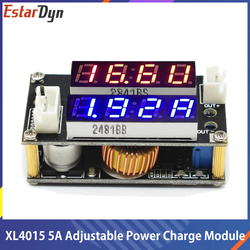 XL4015 5A Adjustable Power CC/CV Step-down Charge Module LED Driver Voltmeter Ammeter Constant current constant voltage