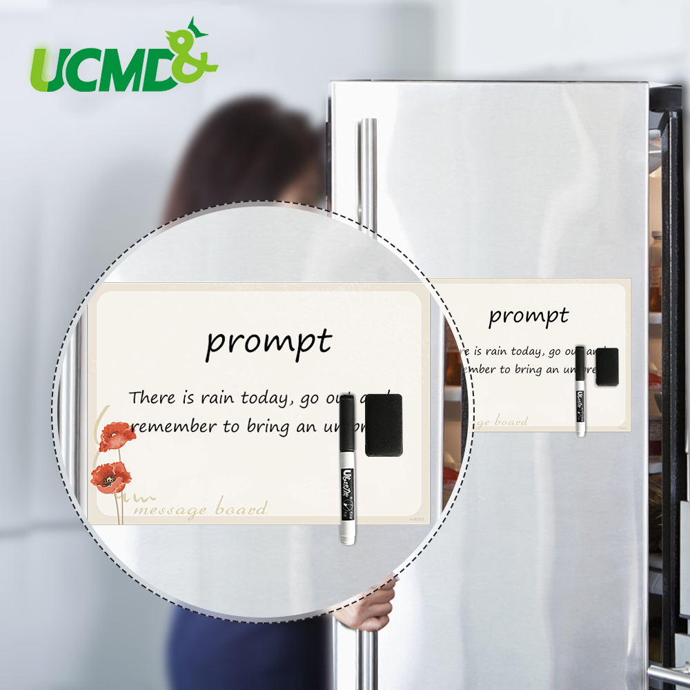 Dry Wipe Whiteboard Fridge Magnets Magnetic Refrigerator Memo Pad White Boards Stickers Weekly Daily Work Learn Plan To Do List