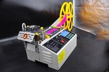 Découpeuse automatique de bande de 988T par la découpeuse chaude et froide d'ordinateur découpeuse élastique de bande 110V / 220V 400W
