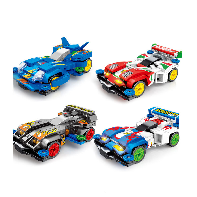 >805Pcs Science fiction movie future <font><b>world</b></font> City speed <font><b>champion</b></font> racing model Building Blocks Toys For Children Christmas <font><b>Gifts</b></font>