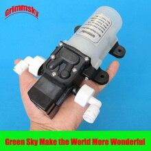 Purificador de água muito silencioso, 2l/min 12v 15w, sistema de filtro de água, chuveiro, carro, lavagem, diafragma dc bomba de água