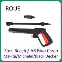 Cho AR Xanh Đen Sạch Decker Bosch Michelin Makita Áp Lực Áp Lực Phun Xe Máy Giặt Phản Lực Súng Bắn Nước vòi Phun