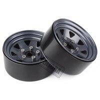 "INJORA Metal 1.9"" Beadlock Wheel Rims 3 Style for 1:10 RC Crawler Car Axial SCX10 90046 Traxxas TRX4 Redcat GEN8 5"