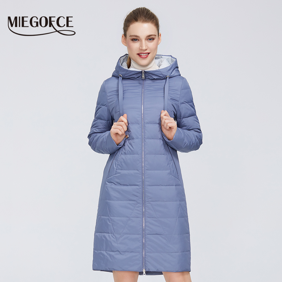 MIEGOFCE 2020 New Design Spring Jacket Women's Coat Windproof Warm Female Parka European and American Female Model Women's Coat 1