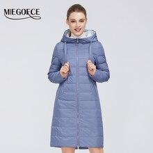 MIEGOFCE 2020 Весенняя осенняя куртка женское пальто ветрозащитный теплый женское парка европейской и американской женской модели пальто новый дизаин