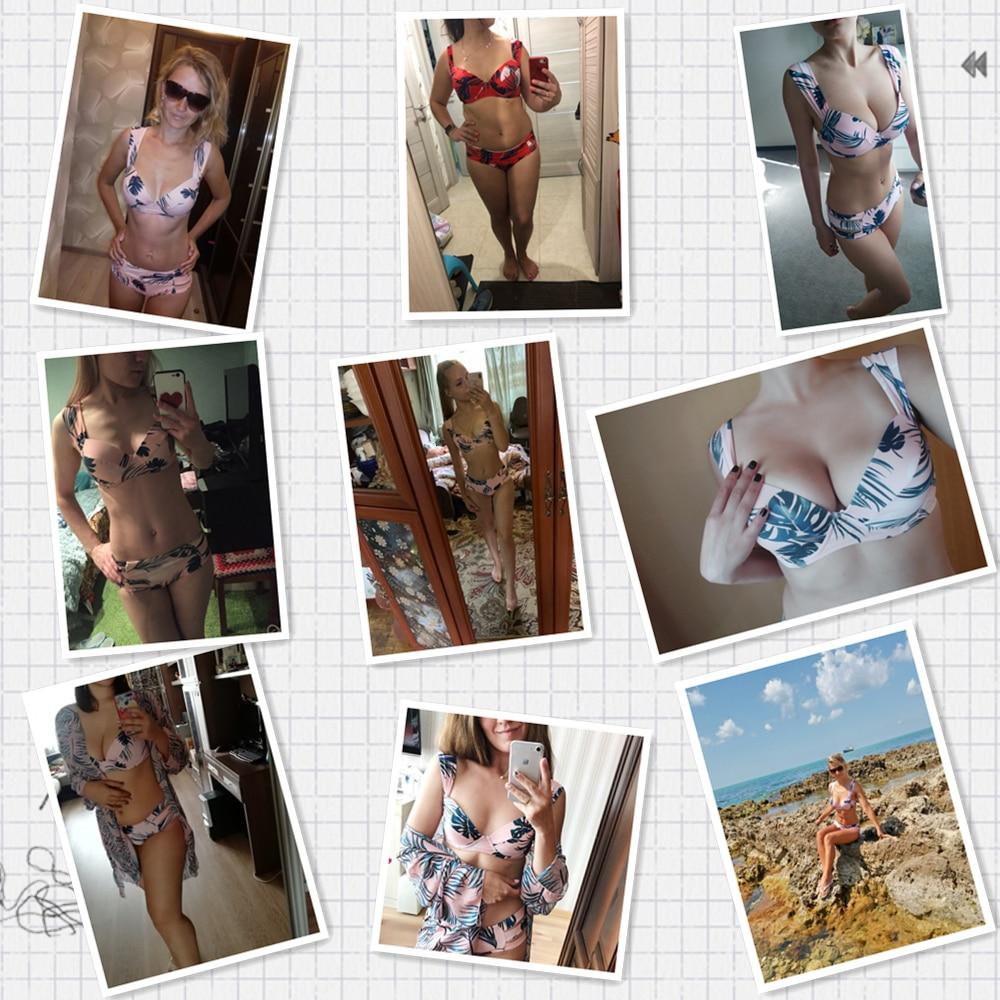 Hc92366be3dae4608a2ab3508b5f4b897j Sexy Bikinis Women Swimsuit 2019 Summer Cut Out Bathing Suits Push Up Bikini Print Swimwear Beach Wear With Underwire Biquini