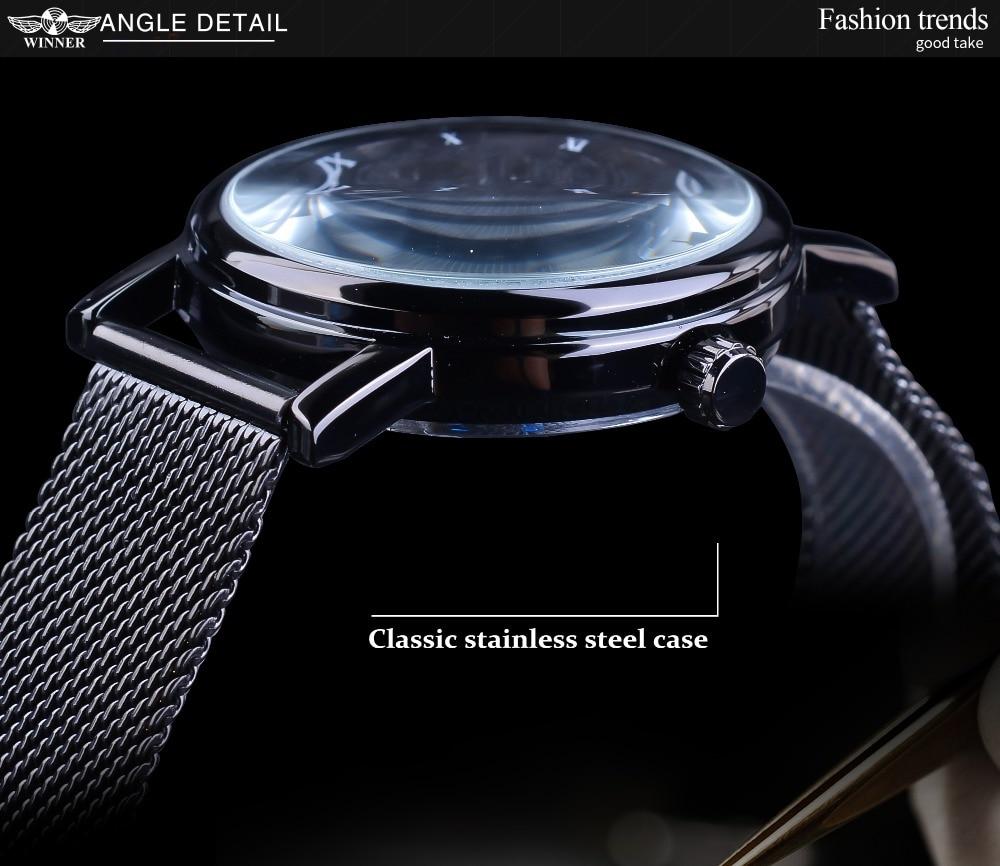 Hc923767c1cdd4d4aa8f12dd719c062c7Q Winner Stainless Steel Mesh Band Transparent Classic Thin Case Hollow Skeleton Mens Male Mechanical Wrist Watch Top Brand Luxury