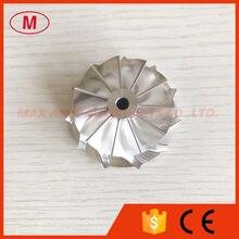 TF035 11 + 0 лезвий 41,50/51,00 мм высокопроизводительная турбозаготовка/Фрезерование/алюминиевый компрессорный круг 2618